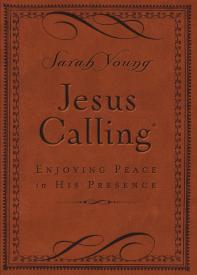 JESUS CALLING-Leather