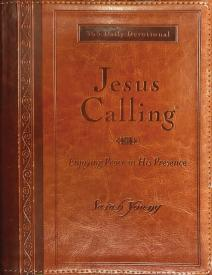 JESUS CALLING-Large Print, Deluxe