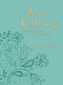 JESUS CALLING-Deluxe Large-Print Edition